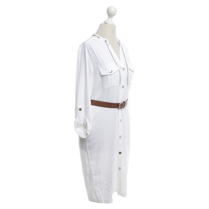 Michael Kors Dress in white with belt
