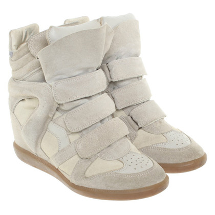 Isabel Marant Sneaker wedges in beige