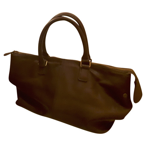 ed16c368b21b2 Liebeskind Berlin Handbag Leather in Brown - Second Hand Liebeskind ...