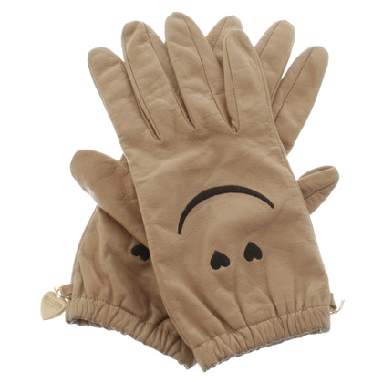 Moschino Gloves in beige