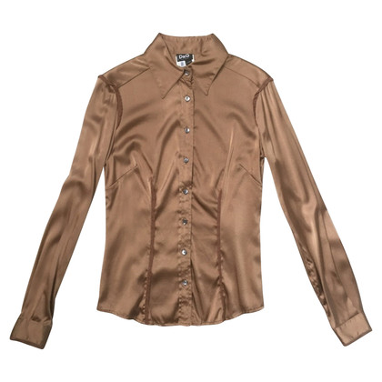 D&G Silk blouse with lace