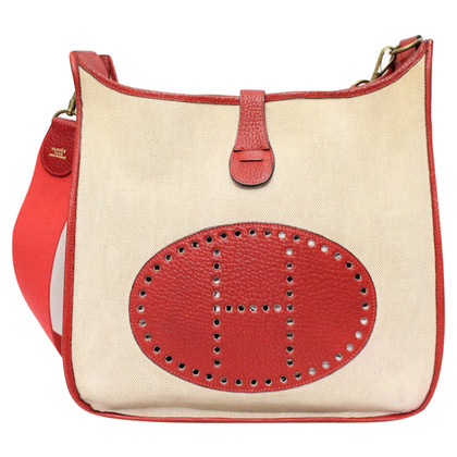 "Hermès ""Evelyne Bag"" in bicolor"