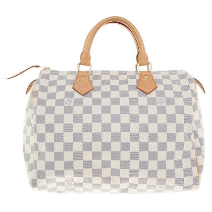"Louis Vuitton ""Speedy 30 Damier Azur Canvas"""