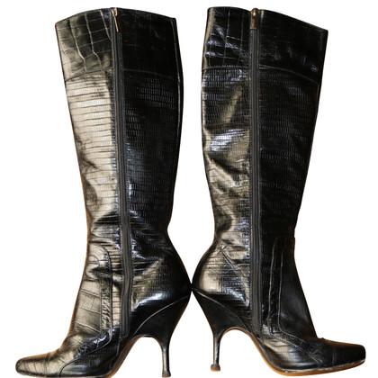 Roberto Cavalli Boots in black