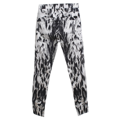 7 For All Mankind Jeans con stampa animalier
