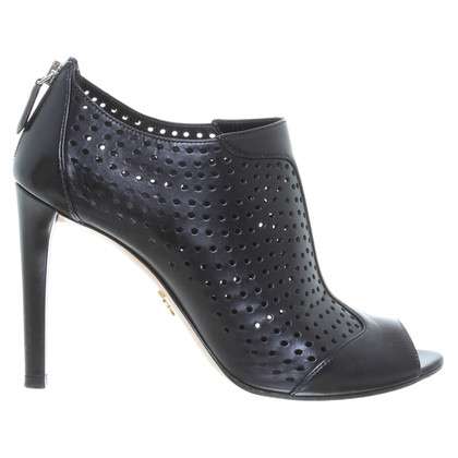 Prada Peep-toes perforated leather