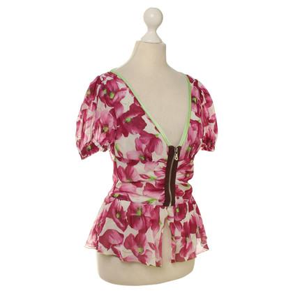 Dolce & Gabbana top floral print
