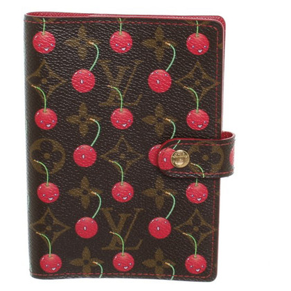 "Louis Vuitton ""Agenda fonctionnel PM Monogram Cerises"""