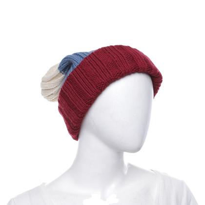 Dsquared2 Woll-Mütze mit Streifen