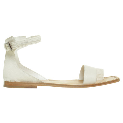 Tod's Leather sandals in white