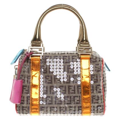 Fendi Kleine Handtasche mit Logo-Muster