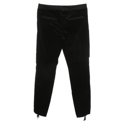 Strenesse Fluwelen broek in zwart