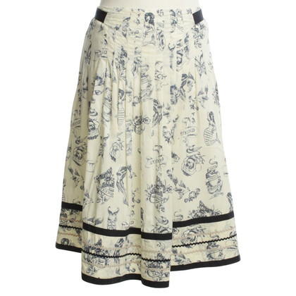 Max Mara skirt with pattern