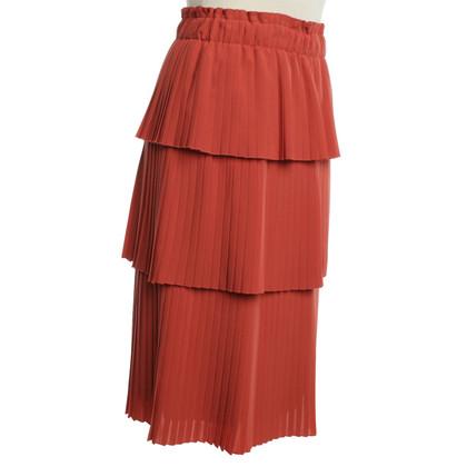 Hugo Boss skirt with pleated flounces
