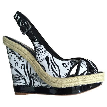 Karen Millen Wedges met Zebra-print