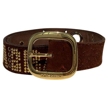 Dolce & Gabbana Belt with rivets