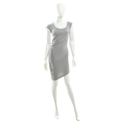 Stefanel Kleid in Grau-Silber