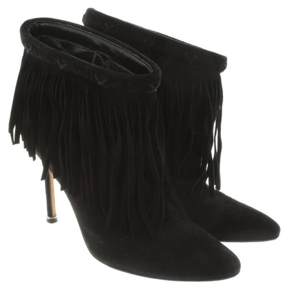 Manolo Blahnik Boots in zwart
