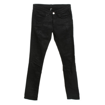 Iro Jeans avec imprimé animal