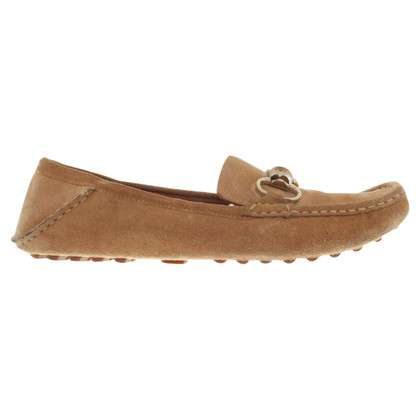 Gucci Pantofola in Camel Brown