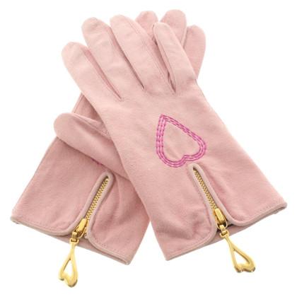 Escada Suede gloves