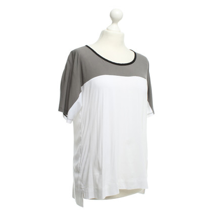 James Perse T-Shirt in Gray / White
