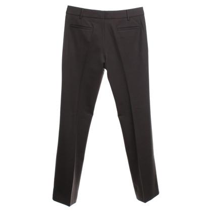 Prada trousers in dark brown