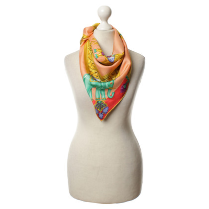 Cartier Zijden sjaal in multi gekleurd