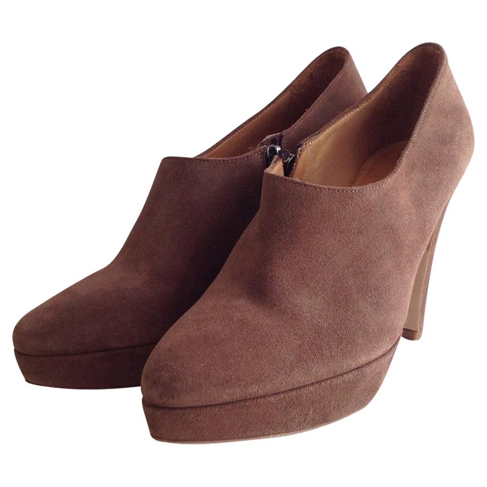 strenesse ankle boots aus wildleder second hand. Black Bedroom Furniture Sets. Home Design Ideas