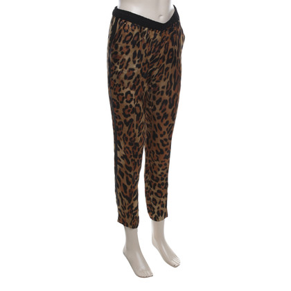 Escada Pants in Animal Art