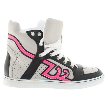 Dsquared2 High sneakers in light gray