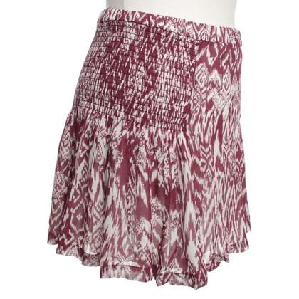 Iro skirt with pattern