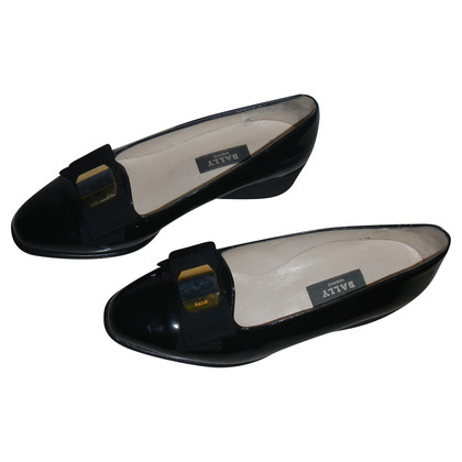 Bally Lackleder-Slipper