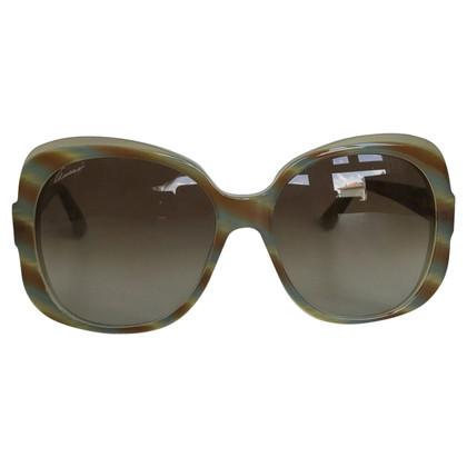Gucci gestreepte zonnebril