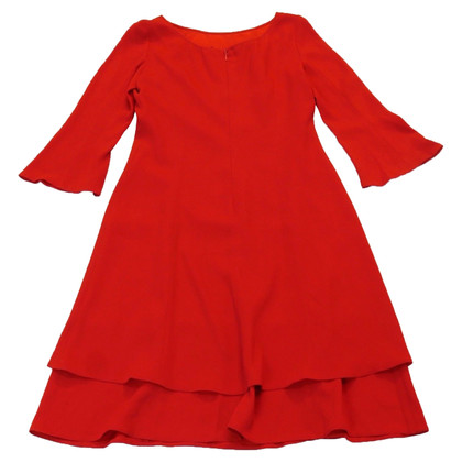 Prada Red dress with ruffles