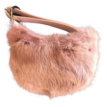 Gucci Rabbit fur handbag