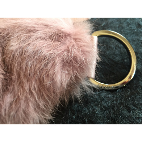 Gucci Handtasche aus Kaninchenfell Rosa / Pink Verkauf Manchester Großer Verkauf d9NEzzS98k