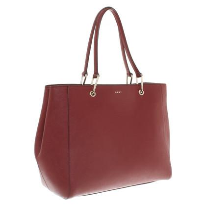 DKNY Handbag in Bordeaux