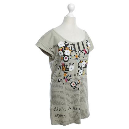 John Galliano T-shirt con stampa