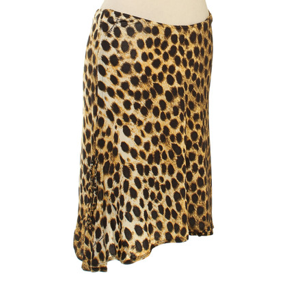 Just Cavalli Gonna con stampa leopardo