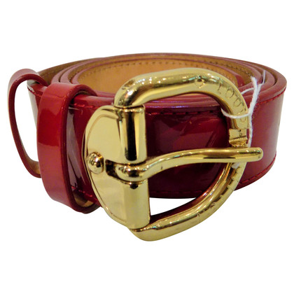 Louis Vuitton Red Belt