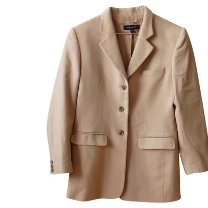 Burberry Wool blazer with cashmere