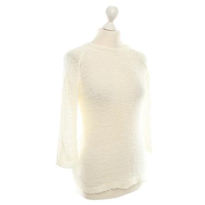 Armani Collezioni Sweater in White