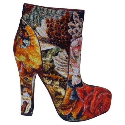 Dolce & Gabbana Plateau-Stiefelette