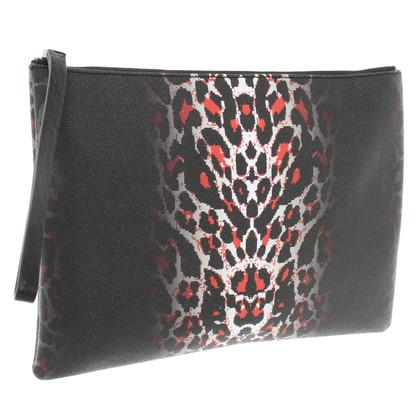 Alexander McQueen clutch in Animal Design