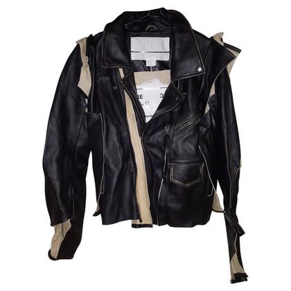 Maison Martin Margiela for H&M leather jacket