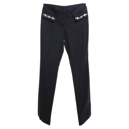 Dolce & Gabbana trousers with gemstone trim