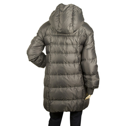 Patrizia Pepe Dark gray quilted jacket