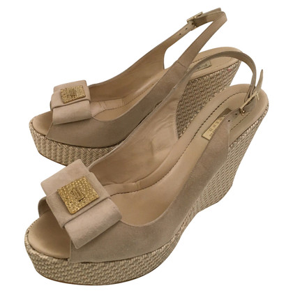 Baldinini Wedges with braided plateau