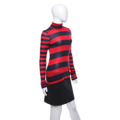 J. Crew Turtleneck sweater with striped pattern
